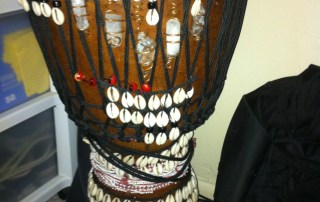 The Healing Drum Ready For Action
