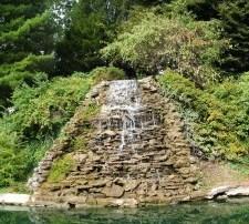 Water Flowing Down Rocks