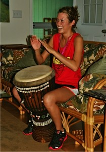 First-Time Drum Player