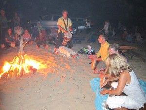 Full Moon Fire with The Healing Drummer