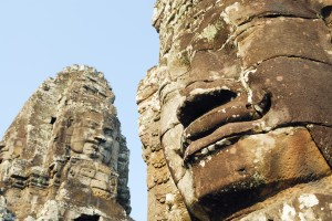 Stone Faces Smiling