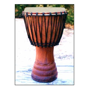 Ivory Coast Djembe Drum