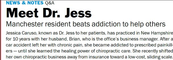 Dr. Jessica Caruso Manchester nh Hippo