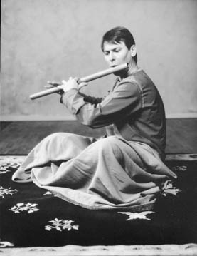Steve Davis playing Bansuri