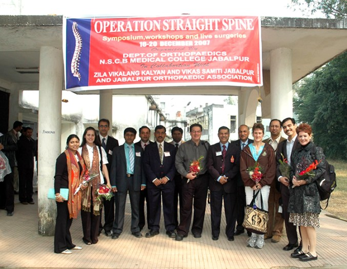 operation straight spine india
