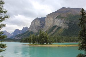 Spirit Island - Jasper, Alberta, Canada