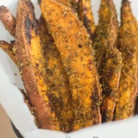 Vegan Sweet Potato Wedge Recipe