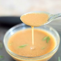 Dirty Vinaigrette With Balsamic Vinegar