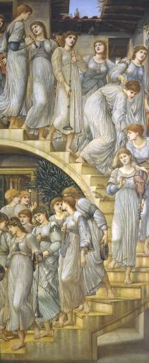 The Golden Stairs - Sir Edward Coley Burne-Jones