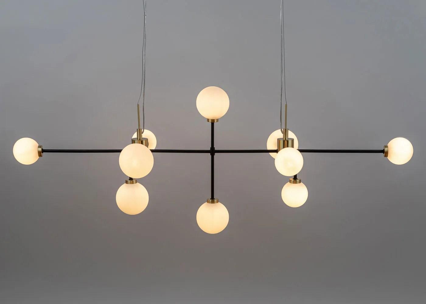 balance linear chandelier