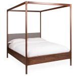 Marlow 4 Poster King Size Bed Walnut Heal S Uk