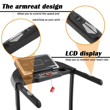 【Not allowed to sell to Walmart】Electric Treadmill Motorized Running Machine