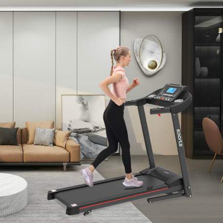 """Folding Treadmill, Smart Motorized Treadmill With Manual Incline And Air Spring & Mp3, Exercise Running Machine With 5\\\\\\\"""" Lcd Display For Home Use"""
