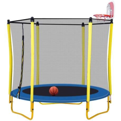 65-inch Outdoor & Indoor Mini Toddler Trampoline