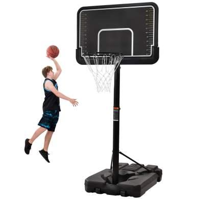 Portable Basketball Hoop & Goal with Vertical Jump Measurement