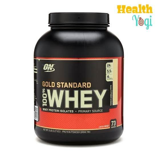 Optimum Nutrition 100% Whey Gold Standard protein supplement