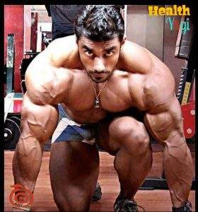 Bodybuilder Sangram Chougule workout routine and diet plan