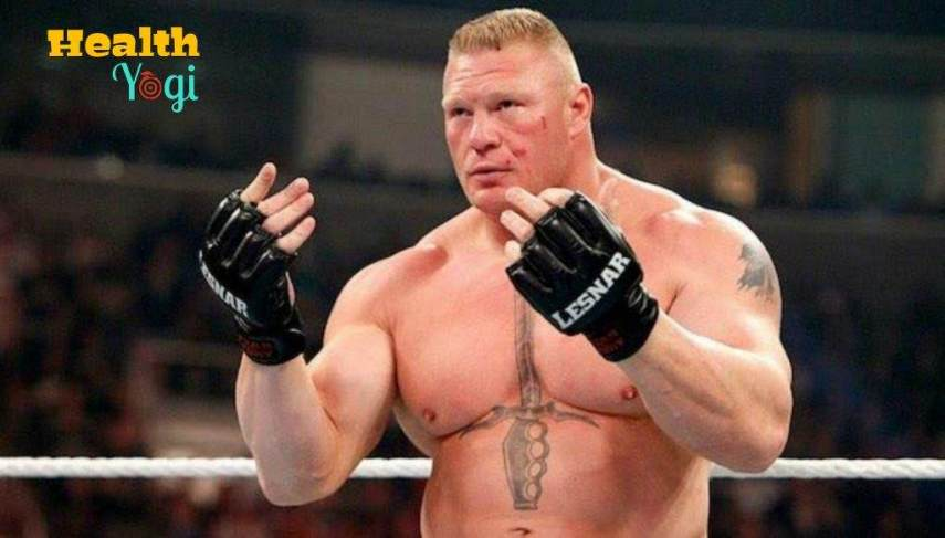 Brock Lesnar exercise routine and meal plan