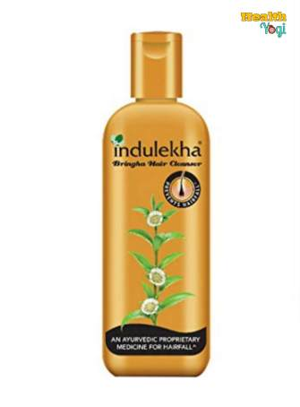 Best Herbal Shampoo For Hair Fall: Indulekha Bringha Anti-hair fall Shampoo