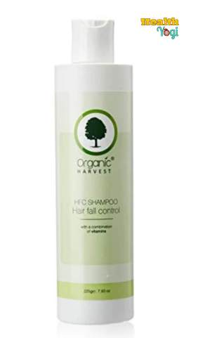 Organic Harvest HFC Shampoo: Best Herbal Shampoo For Hair Fall