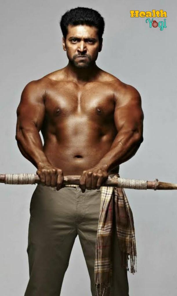 Workout Routine of Jayam Ravi