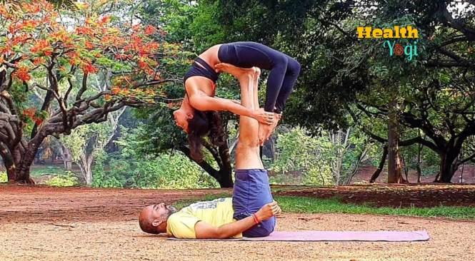 Samyuktha Hegde Yoga Pose