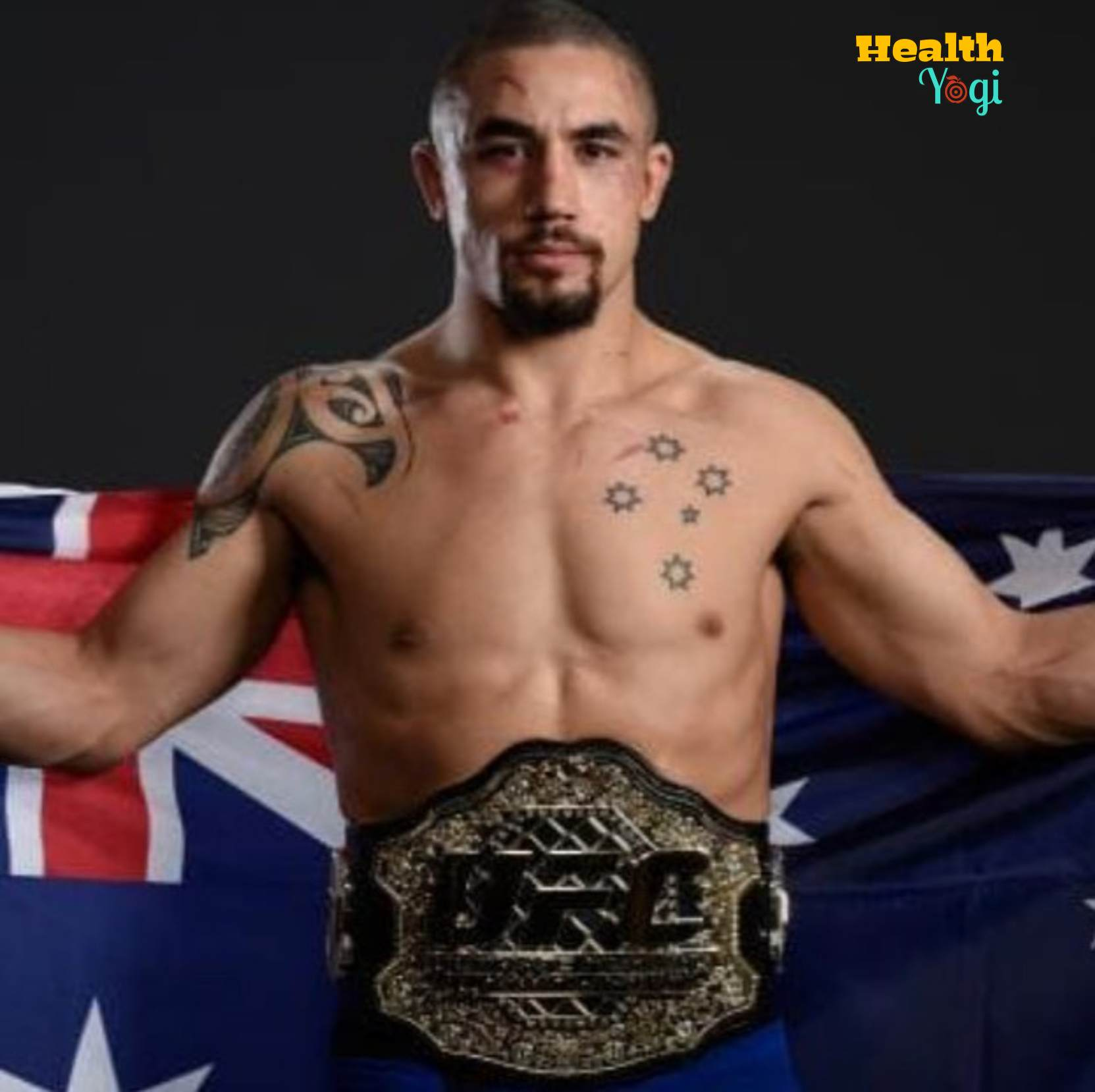 Robert Whittaker Diet Plan and Workout Routine