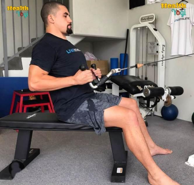 Robert Whittaker Exercise Routine