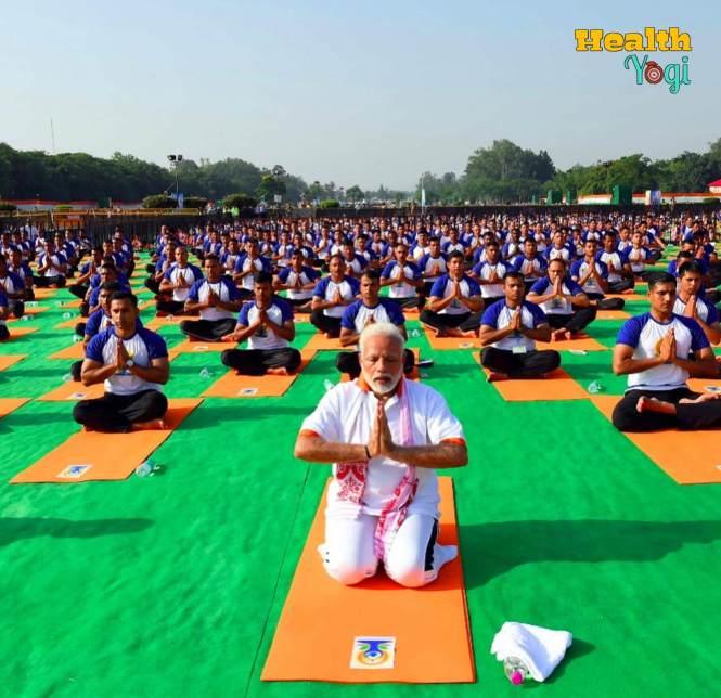 Narendra Modi Yoga HD Instagram Photo