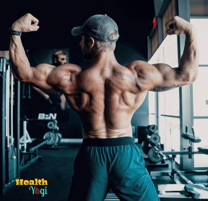 Nick Bare back workout