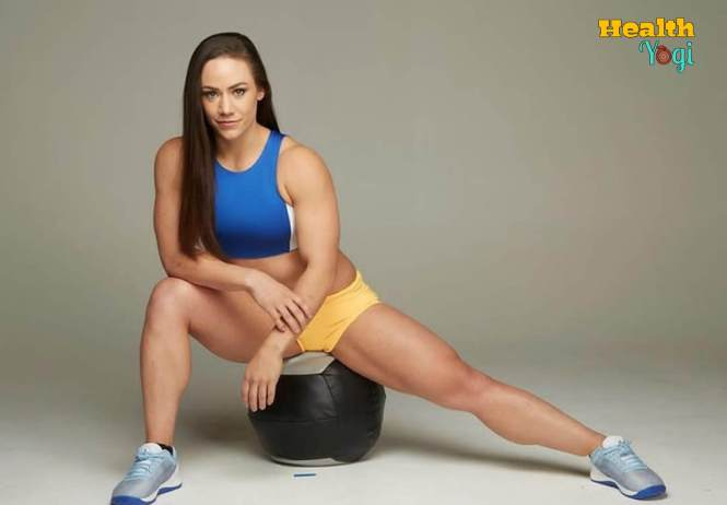 Camille Leblanc-Bazinet gym routine