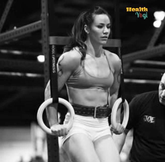 Camille Leblanc-Bazinet training