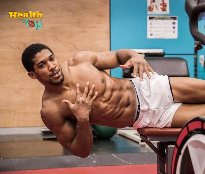 Anthony Joshua abs