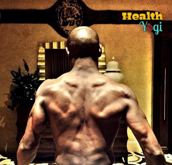 Floyd Mayweather Back workout