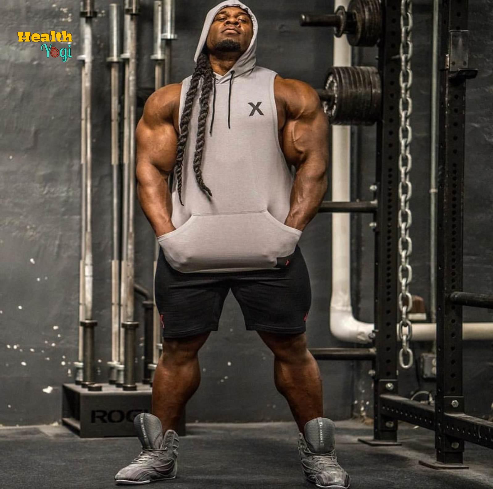 Kai Greene workout routine and diet plan