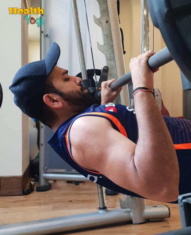 Rohit Sharma Gym Workout