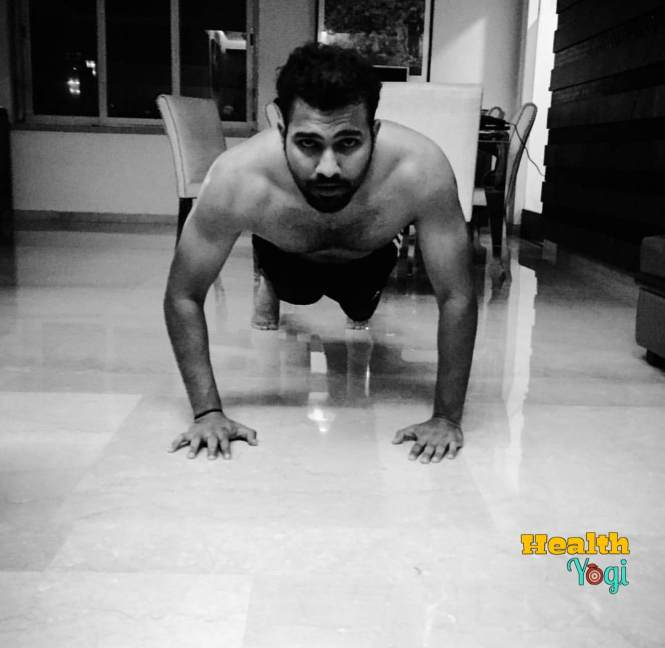 Rohit Sharma Exercise Routine