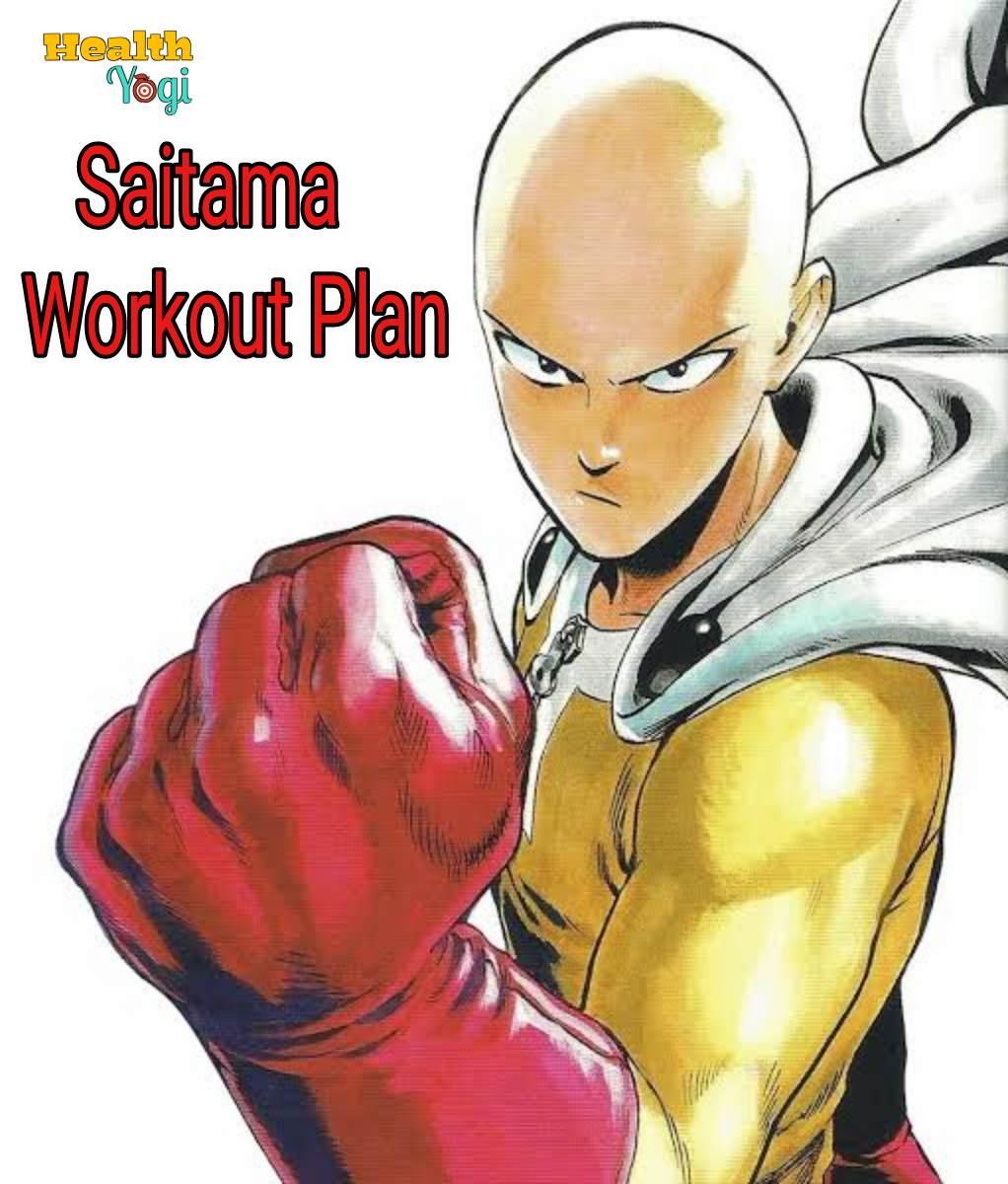 Saitama Workout Routine | One Punch Man Superhero Fitness ...