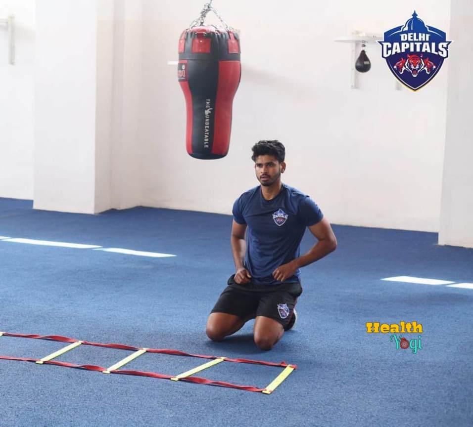Shreyas Iyer Fitness Training