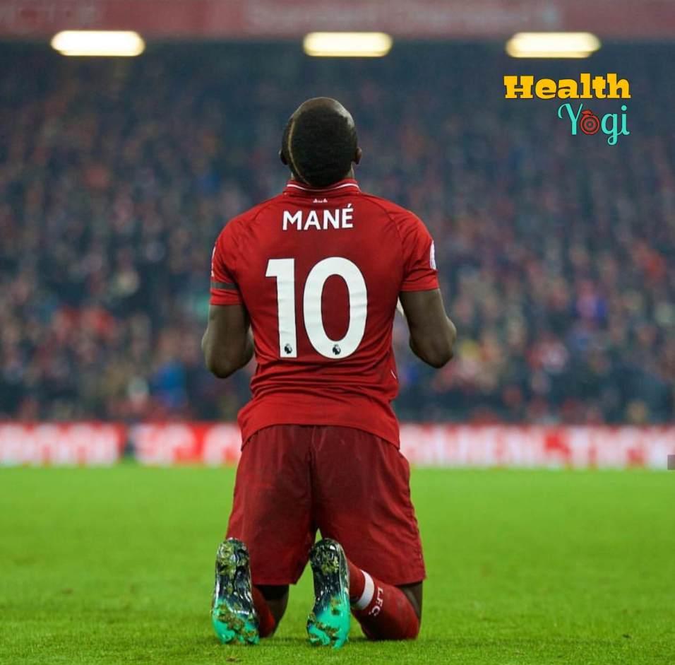 Senegalese professional footballer Sadio Mane