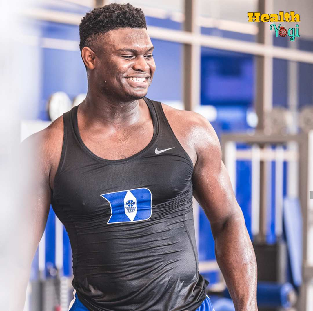 Zion Williamson Workout Routine and Diet Plan