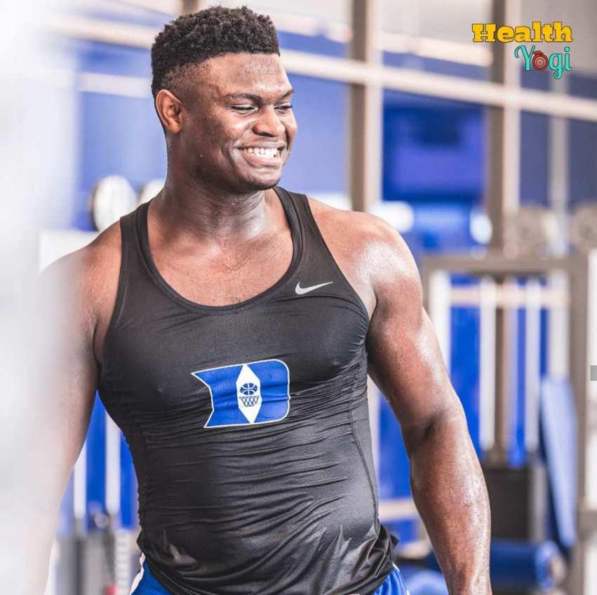 Zion Williamson Workout Routine and Diet Plan