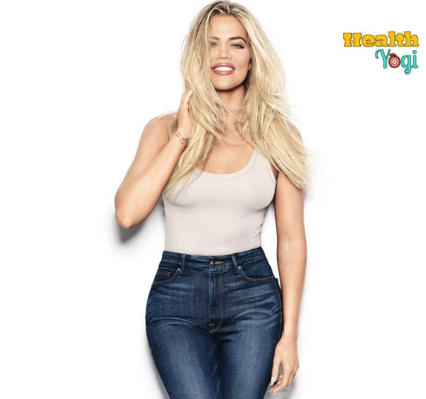 Khloe Kardashian Workout Routine and Diet Plan