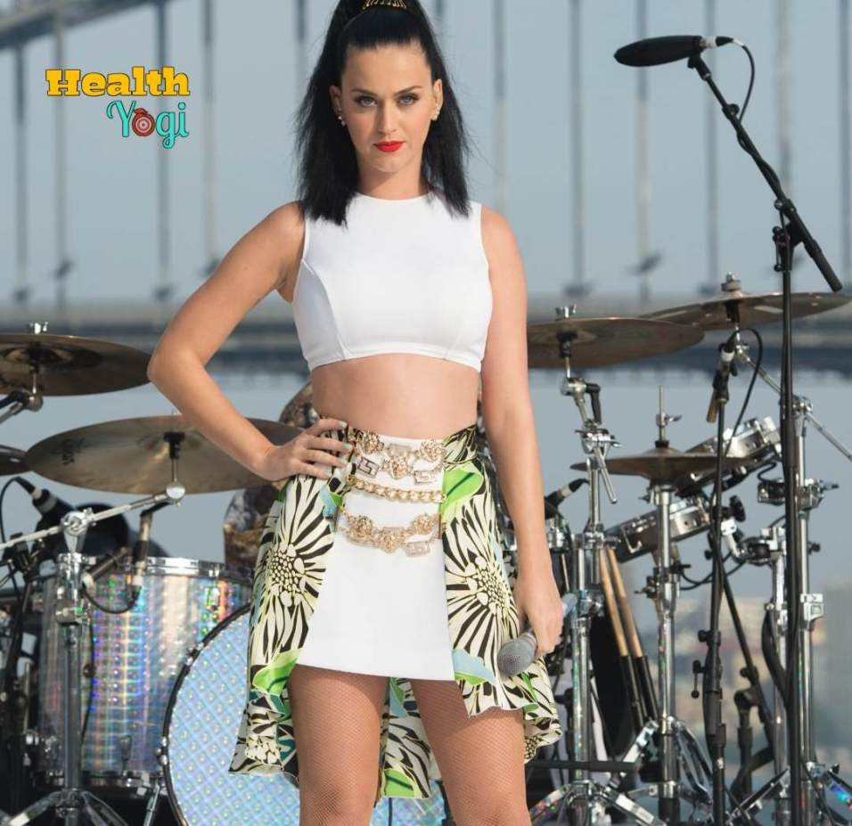 Katy Perry Workout Routine and Diet Plan