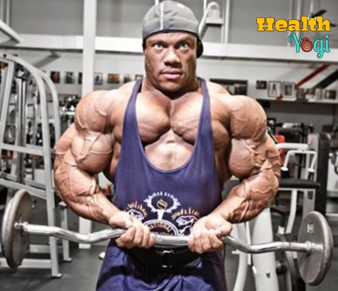 Phil Heath Workout Routine and Diet Plan