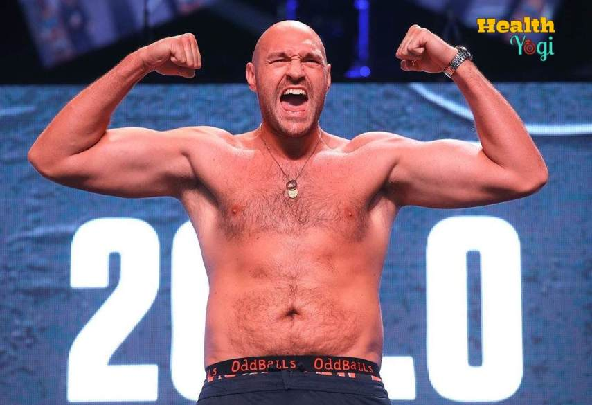 Tyson Fury Workout Routine and Diet Plan