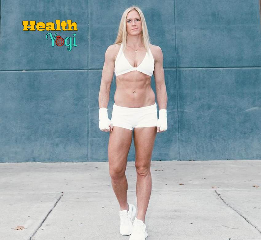 Holly Holm Workout Routine and Diet Plan