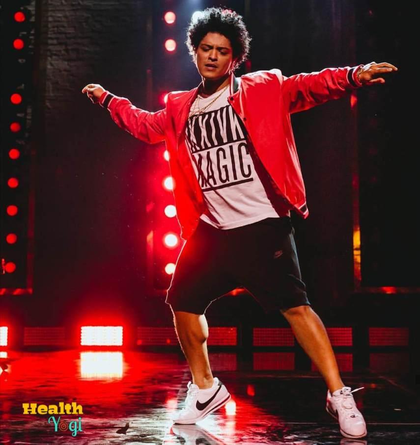 Bruno Mars Workout Routine