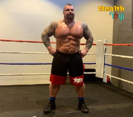 Eddie Hall Workout Routine and Diet Plan