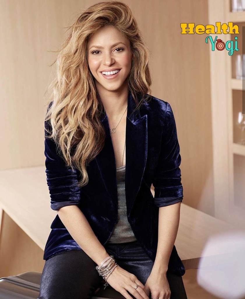 Shakira Diet Plan